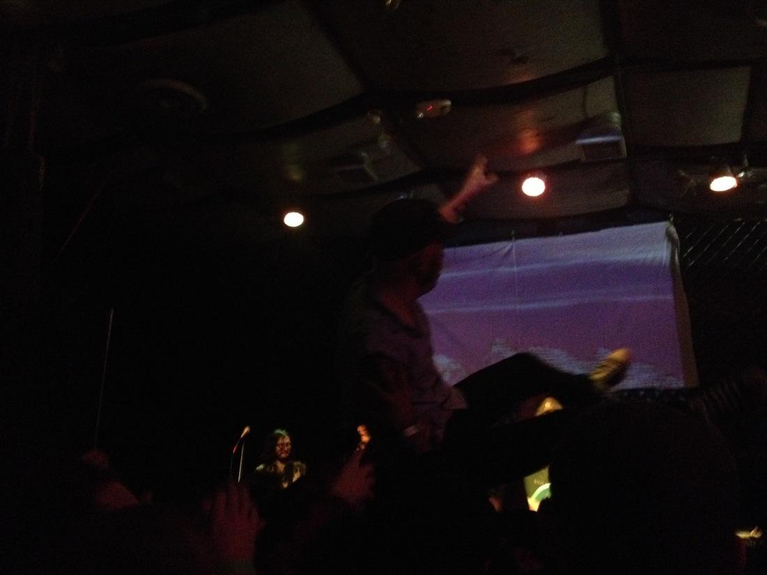 Nato crowdsurf